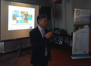 Marc Kwai Pun, présentant un état des lieux du projet.