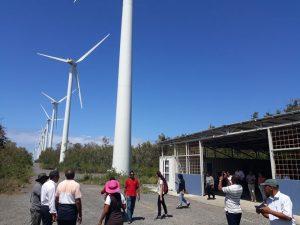 parc éolien de Plaine des Roches.
