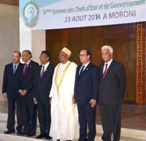 4e Sommet des chefs d'Etat et de gouvernement de la COI