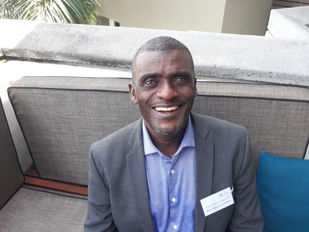 Ali Ibrahim Maziada, Point Focal National de l'Union des Comores pour le programme ENERGIES