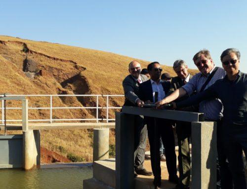 La pico-centrale hydro-électrique d'Andriamamovoka opérationnelle