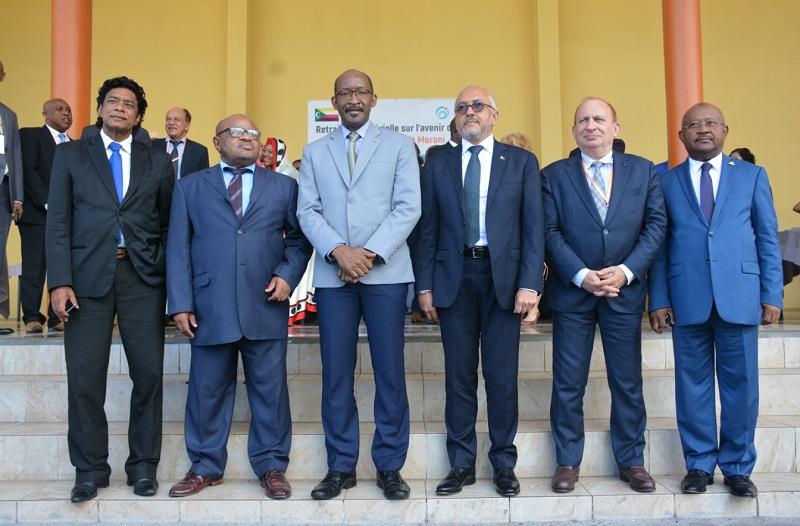 Photo de famille chefs de délégation des Etats membres COI
