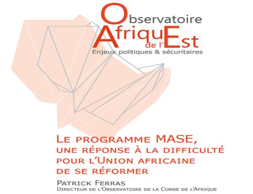 Le programme MASE, une réponse à la difficulté pour l'Union africaine de se réformer