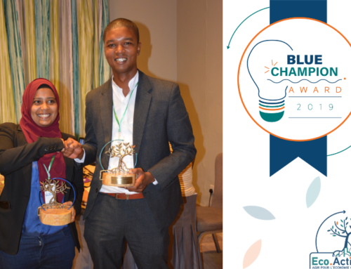 Blue Champion Award : Maurice fait coup double