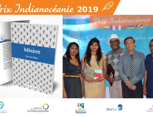 """Prix Indianocéanie 2019 : le roman """"Misère"""" de Davina Ittoo distingué"""