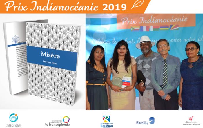 lauréate prix indianocéanie 2019