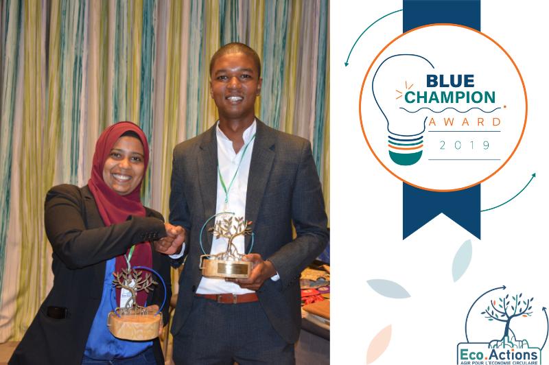 Blue champion award gagnants finale