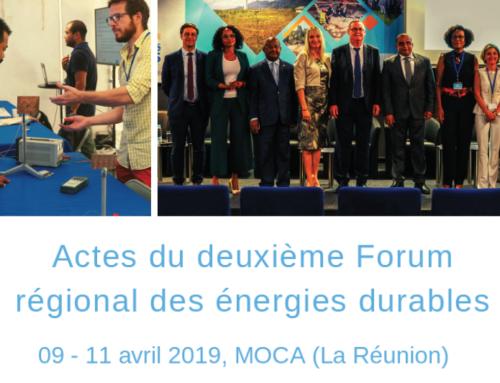 Forum des énergies durables 2019