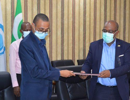 Covid-19 : Caméra thermique et expertise aux Comores
