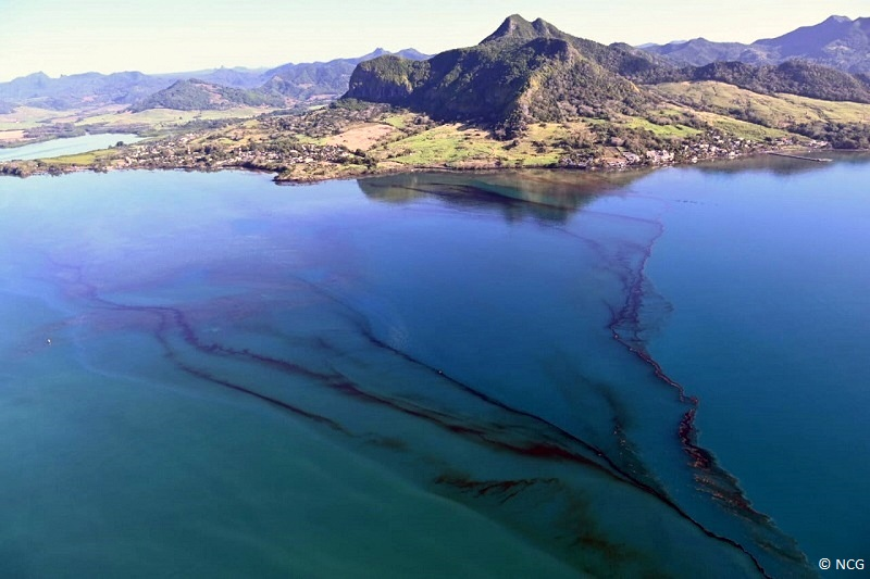 marée noire maurice