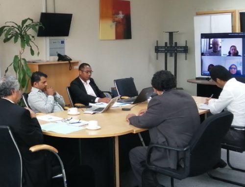 Réunion de travail du comité d'audit et de la direction du Secrétariat général