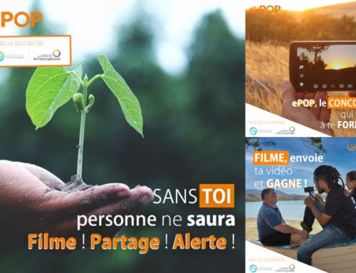 ePOP, le concours vidéo pour donner la parole aux victimes des changements climatiques et environnementaux