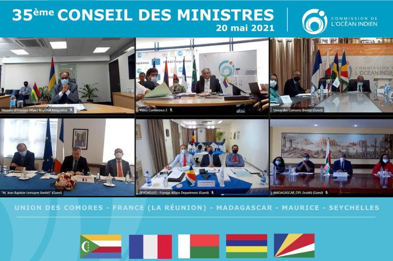 35e conseil ministre COI groupe