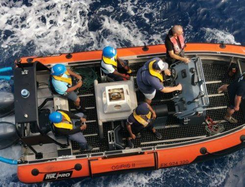 L'Osiris II de retour d'une deuxième mission régionale de surveillance des pêches