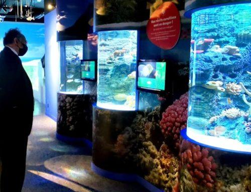 ExPLOI : premier accord de collaboration avec l'océanorium de Maurice