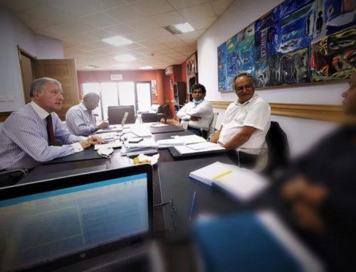 Visite de l'Ambassadeur Marcel Escure, représentant de la présidence française de la COI